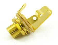 Genuine Switchcraft Jack 1/4 Extra Long Gold