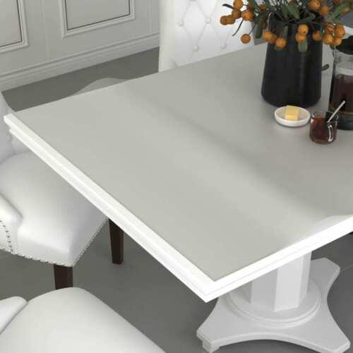 vidaXL Tischfolie Matt 100x60cm 2mm PVC Tischdecke Schutzfolie Tischschutz