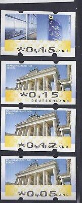 Brd Brandenburgertor Und Post Tower Mit Zähl Nr, Postfrisch S7 Freigabepreis
