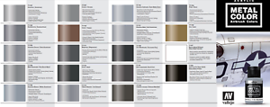 Vallejo-Metal-Color-Metallic-Paint-Choose-Mix-any-32ml-Bottle-from-Full-Range