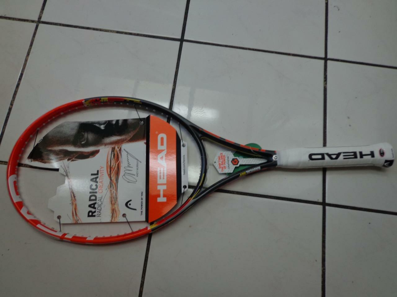 Nuevo Head Graphene Radical 98 16x19 10.4oz 4 1 2 Grip Tenis Raqueta