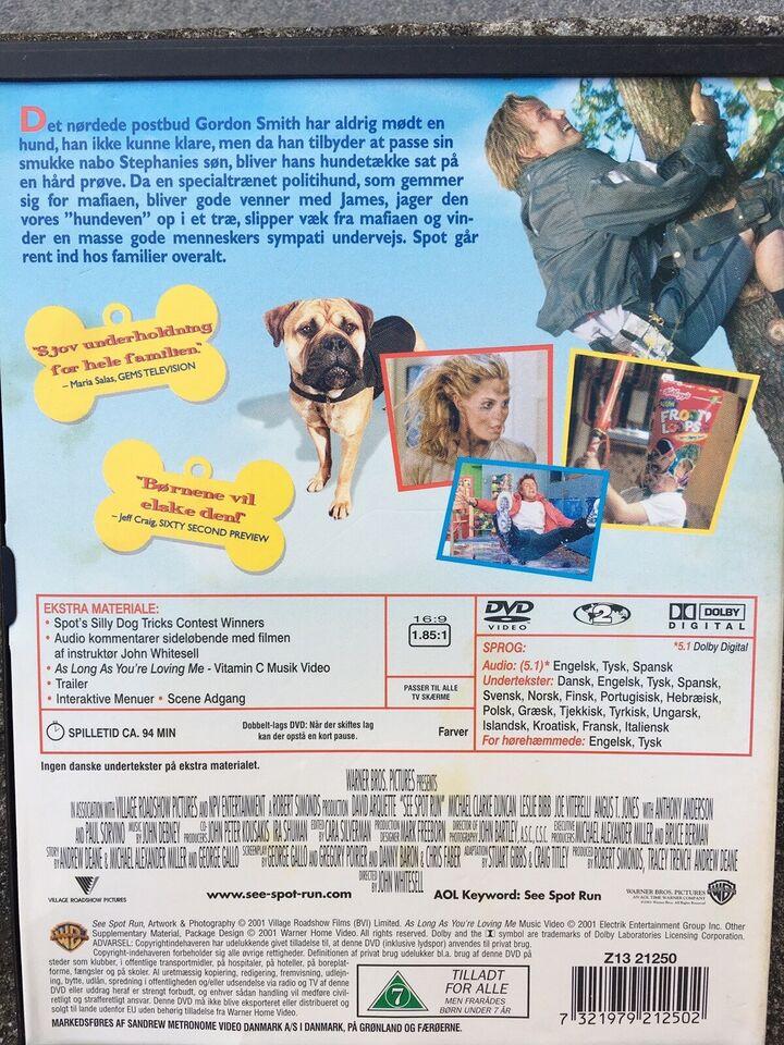 Spot, DVD, andet