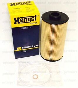 Bmw 4 4l Engine E38 E39 X5 Oem Hengst Oil Filter