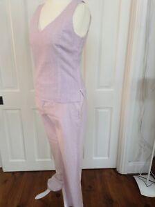 senza la e parte seconda Stripe maniche pantaloni a rosa 14 Candy taglia Top per righe qEdv7Pnqw