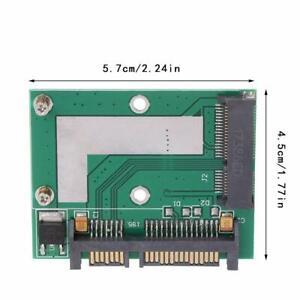 """MINI PCI-E SSD mSATA a 2.5"""" SATA 6.0 Convertitore Adattatore GPS Modulo Scheda"""