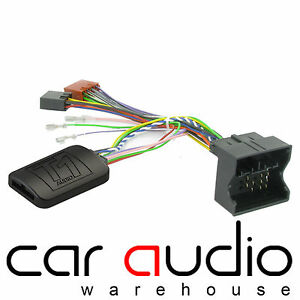 Ford Mondeo Clarion Radio Adaptador Conector most volante control remoto Interface