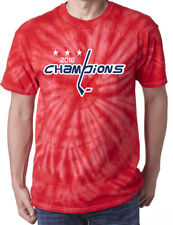 ROSTER ON BACK 4XL WASHINGTON CAPITALS 2018 STANLEY CUP CHAMPIONSHIP T-SHIRT