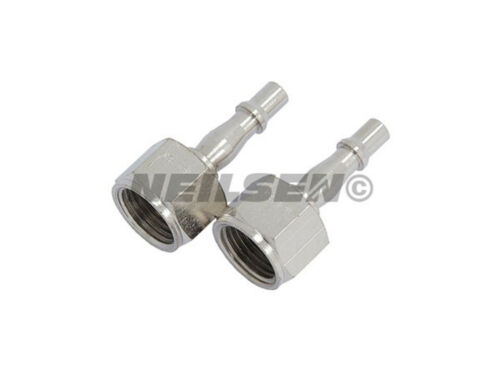 "Pack of 2 Female Airline Bayonet Fitting Connector Set 1//2/"" BSP   CT1682"