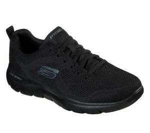 Black-Shoes-Skechers-Men-039-s-Memory-Foam-Mesh-Sport-Athletic-Comfort-Casual-232057