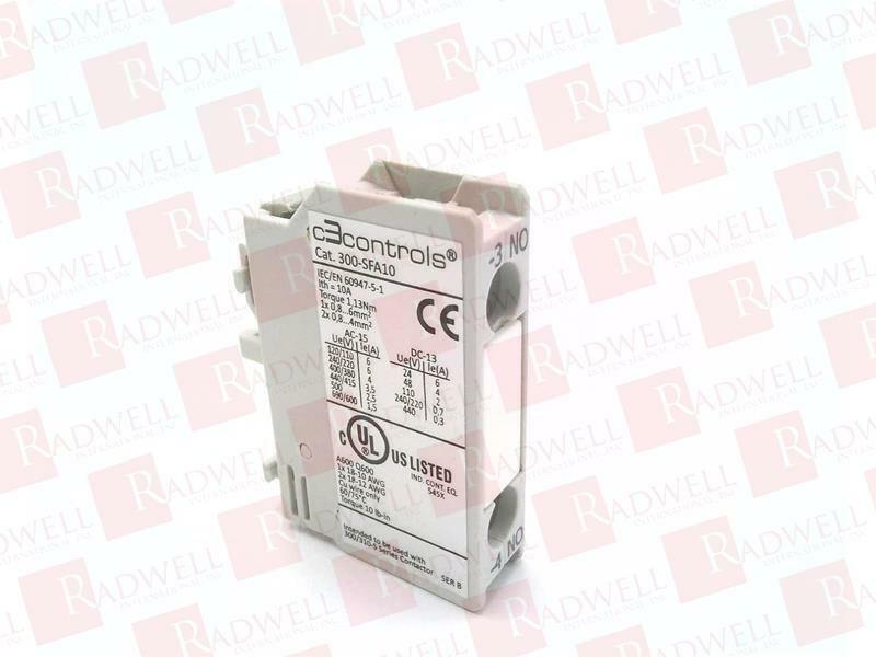 BRAND NEW C3 CONTROLS 300-SFA10 300SFA10