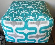 Premier Prints INDOOR/OUTDOOR Handmade Pouf Ottoman Floor Cushion Beanbag Chair
