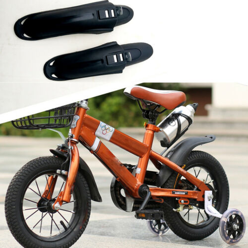 Children Bicycle Mudguards Kids Bike Front and Rear Fender Set Tire Cleaner