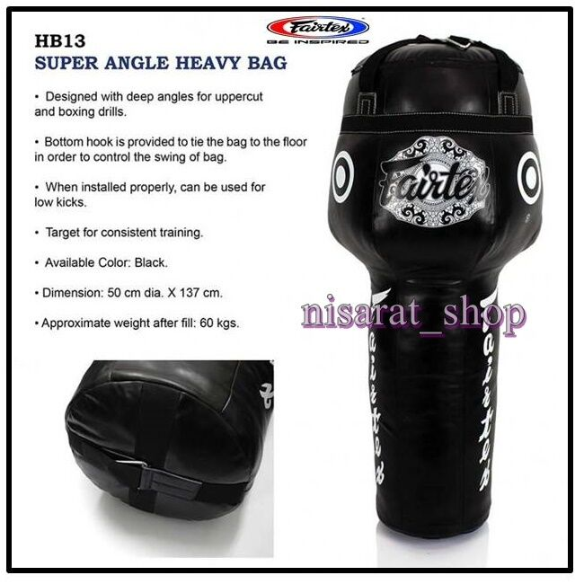 FAIRTEX HB13 HEILIGE Tasche 5 FEETS SUPPER ANGLE MMA SHIPS by DHL EXPRESS UN-FILED