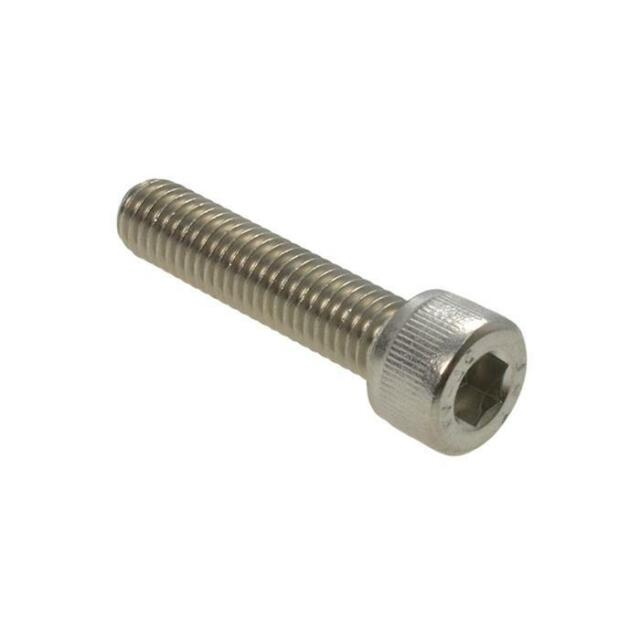 Qty 1 Socket Head Cap M2 (2mm) x 20mm Marine Grade Stainless Steel 316 A4 Screw