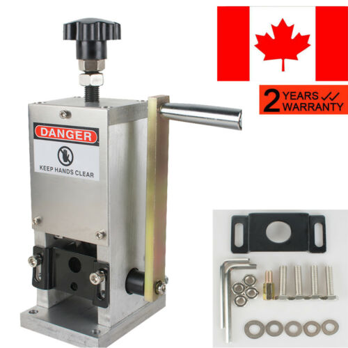 Pro Manual Wire Stripping Machine Copper Cable Peeling Stripper Drill Connector