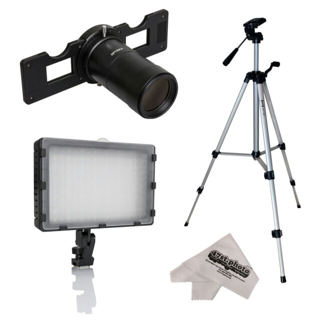 Opteka HD Slide Copier Duplicator Studio Kit for Pentax Digital SLR Camera