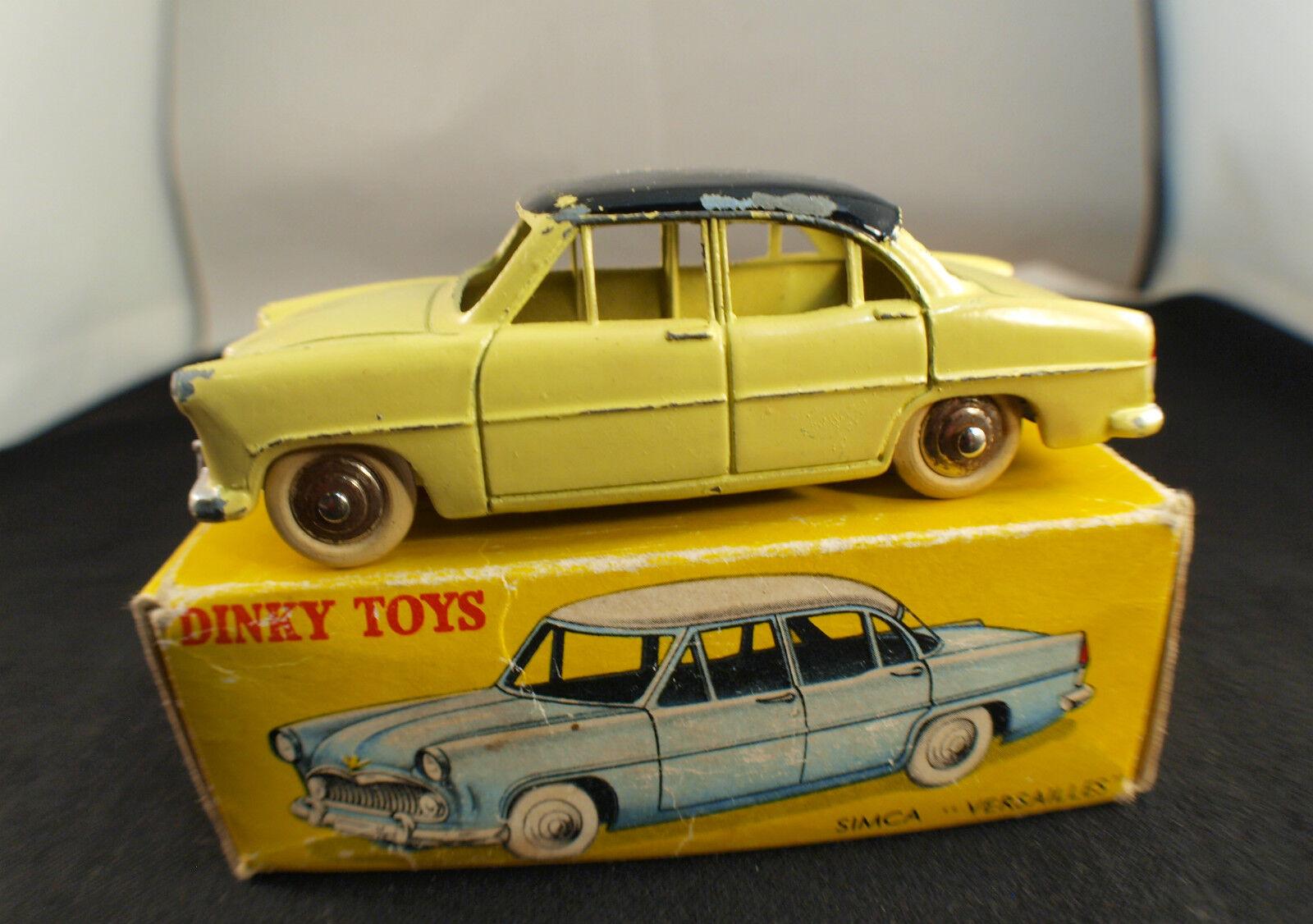 Dinky Toys F 24 Z Simca Versailles box