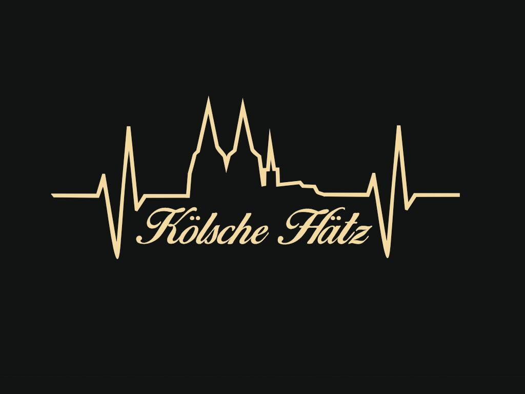 Nouvelle année nouvelle couleur Kölsche LIBRE H tz/ECG-LIGNE-Mural/Cologne-Autocollant emplaceHommes t LIBRE Kölsche Nº 0008 4ec6e1