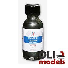 Steel Lacquer 1oz Bottle - ALCLAD II LACQUER 112