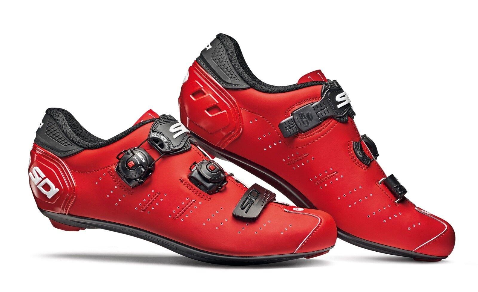 Schuhe Schuhe Schuhe SIDI ERGO 5 MATT Rot schwarz Größe 46 2b5280