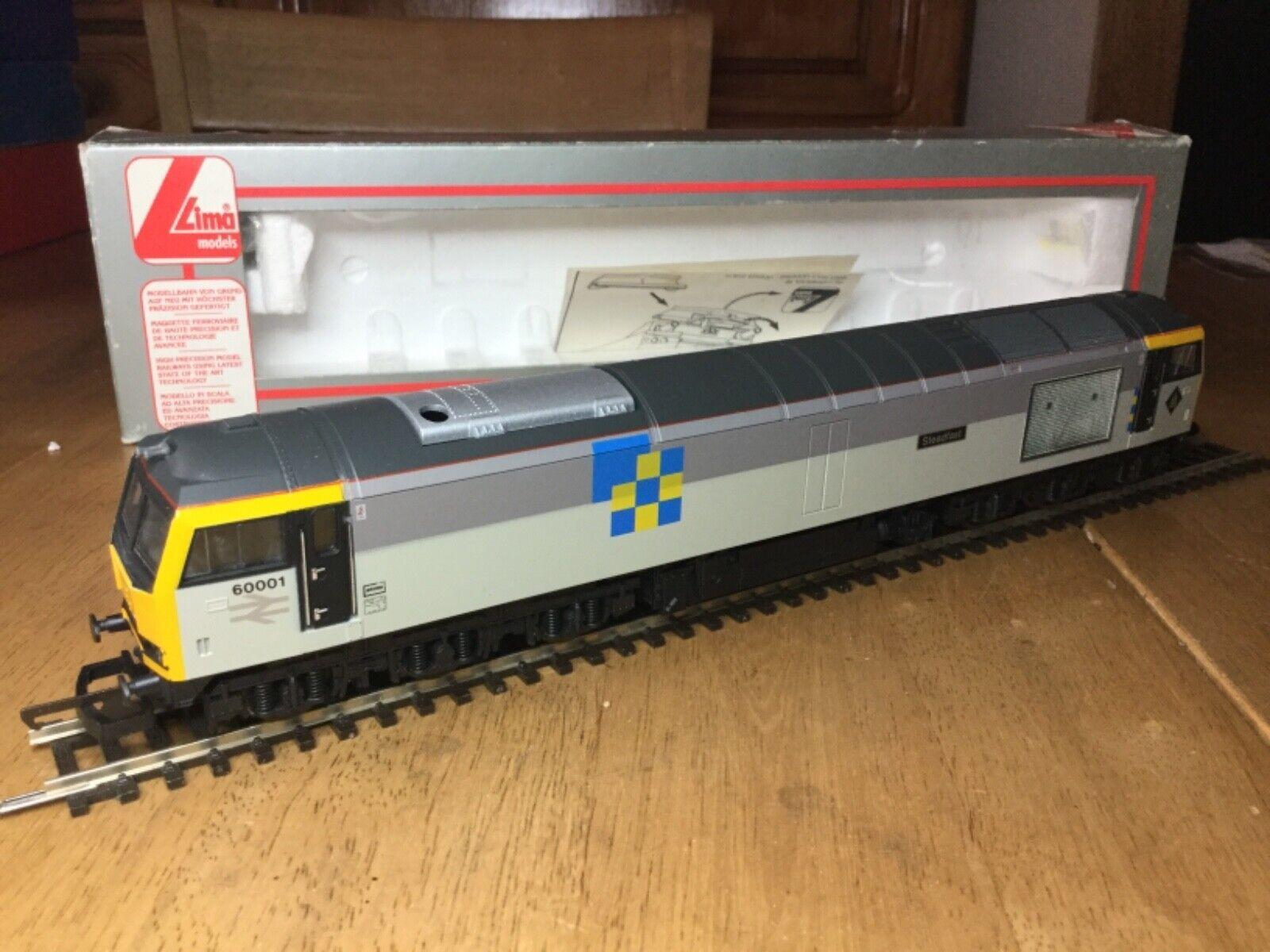Lima OO 5020 BR Railfreight Construction classe 60 Diesel Loco 60001 Steadfast