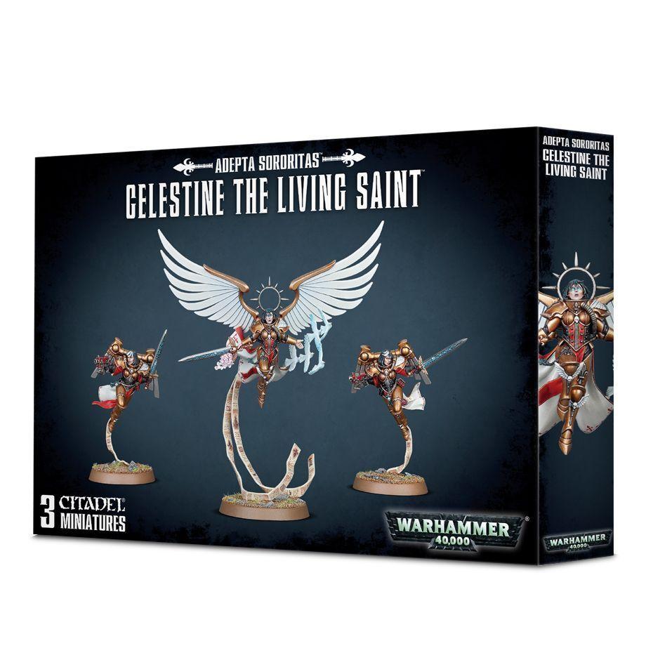 Warhammer 40k adeptus ministorum celestine der heiligen neue