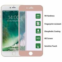 Rose Gold Anti-Explosion Full Screen Tempered Glass Protector For iPhone 6S Plus