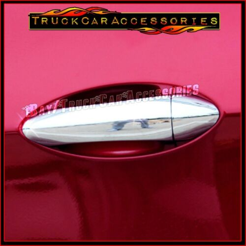 For CHEVY Cruze LS 2016 2017 4 Chrome Door Handle Covers WITHOUT Smart Buttons