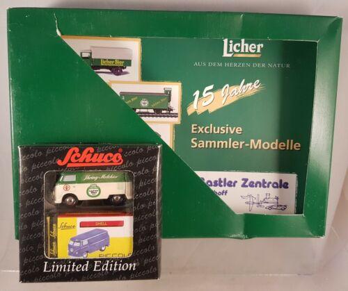"""Schuco Piccolo set /""""tantes cerveza/"""" VW t1 libro//catálogo 50132027"""