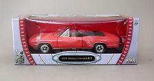 1:18 Yat Ming 1970 Dodge Coronet R/T Convertible - Orange