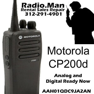 motorola cp200d digital analog ready now 2 way radio uhf. Black Bedroom Furniture Sets. Home Design Ideas