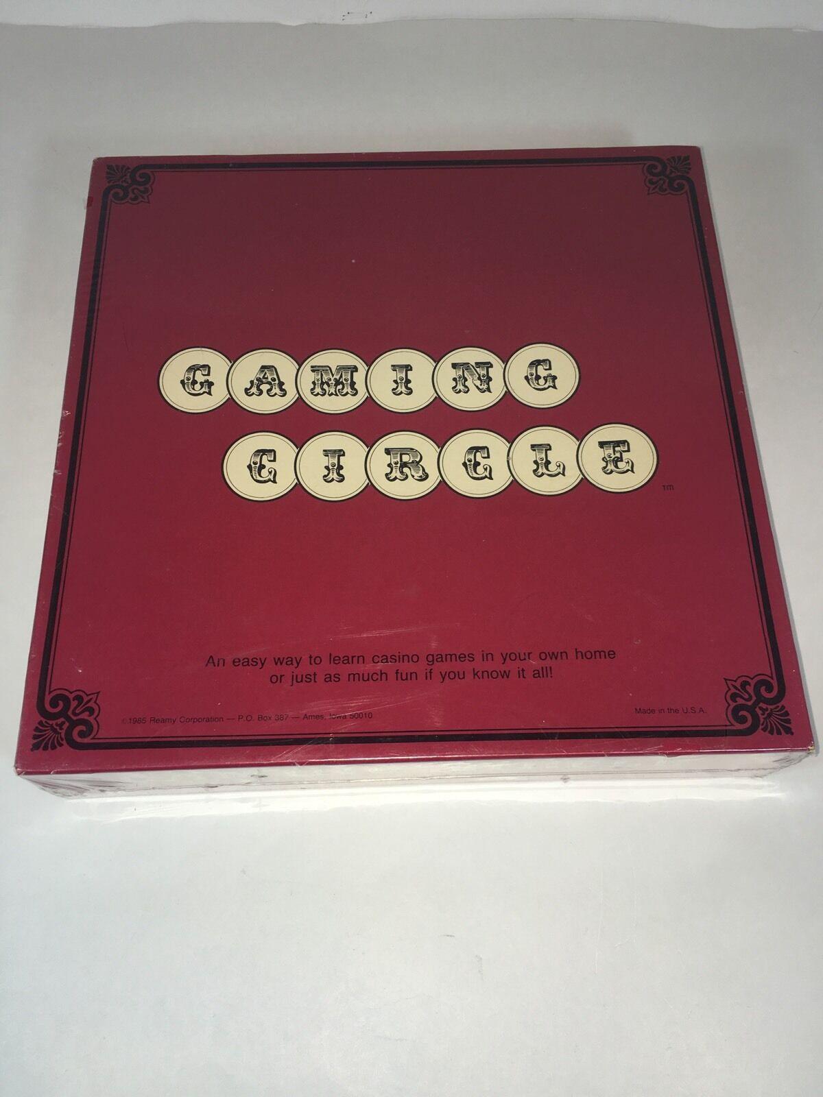 Vintage Gaming Circle Learn Casino Games 1985 Reamy Corp NIP