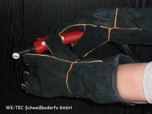 5 Paar MIG-MAG Schweisser Leder Handschuhe Gr.10  Grill-Camping Handschuhe Dick