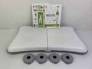 Nintendo Wii Fit Game Bundle: Balance Board, Wii Fit, Wii Fit Plus TESTED