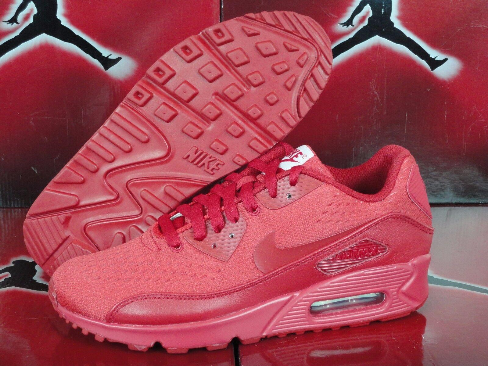 NEW Nike Air Max 90 EM NikeiD ID Sz 7.5 WOMENS All Red October Yeezy Custom
