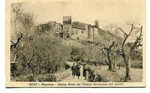 1929-Rapolano-Antica-Porta-Tintori-Panorama-Guller-Siena-Lucca-FP-B-N-ANIM-VG