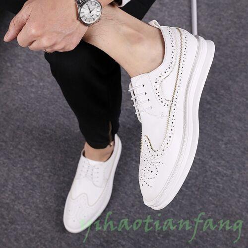 Sz Brogue Inglaterra tallado para informal moda encaje de mesa vestido hasta 2019 zapatos Nueva hombre q6wAX