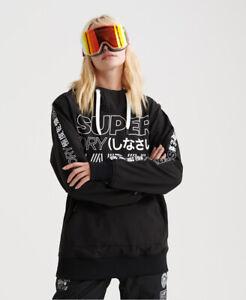 Superdry Damen Snow Tech Hoodie