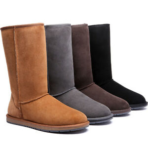 UGG-Boots-Australia-Double-Face-Sheepskin-Tall-Classic-Water-Resist