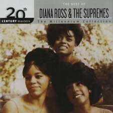 20th Century Masters - The Millennium Collection: The Best of Diana Ross & the Supremes by Diana Ross (CD, Jan-1999, Universal Division Barclay)