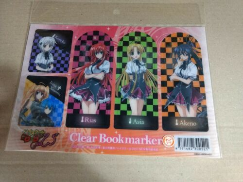 High School DxD clear bookmarker