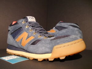 615586e7ab29 2013 NEW BALANCE H710HSN 710 HERSCHEL SUPPLY DENIM BLUE BROWN RED ...