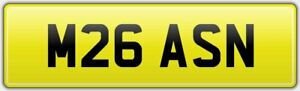 MASON-NEAT-FULLY-LEGAL-CAR-REG-NUMBER-PLATE-M26-ASN-ALL-FEES-PAID-ON-RETENTION