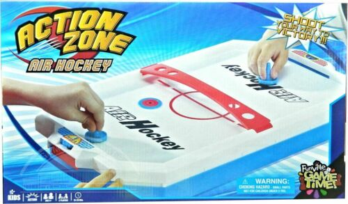 New Action Zone Air Hockey Family fun Indoor and Outdoor usage