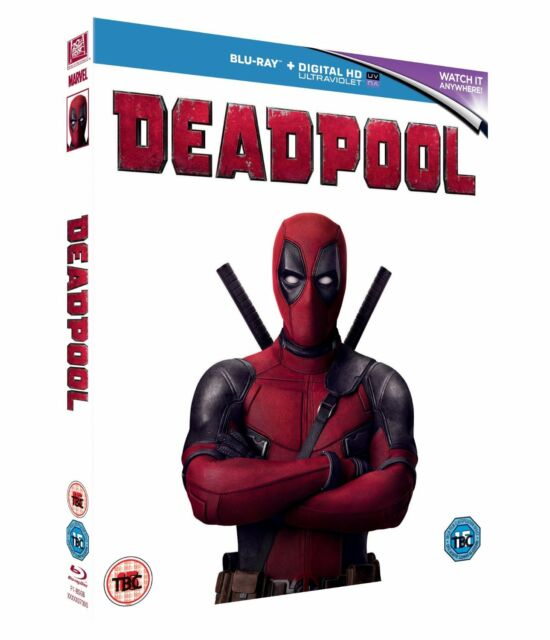 DEADPOOL DIGITAL HD UV - BLUR-RAY FILM