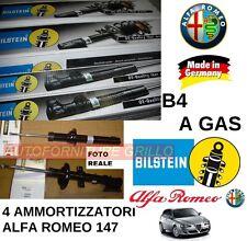 KIT 4 AMMORTIZZATORI B4 A GAS BILSTEIN ALFA ROMEO 147