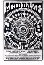 "8/8/87pg4 Acid Daze Concert Advert 7x5"" Hawkwind/doctor & The Medics"