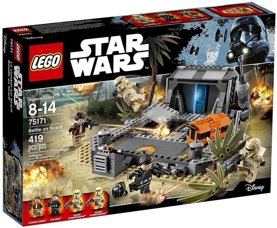 Lego Star Wars Battle Sur SCARIF Set  75171