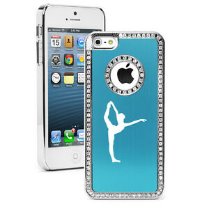 For-iPhone-4s-5-5s-5c-6-6s-Plus-Rhinestone-Crystal-Bling-Case-Dancer-Gymnastics