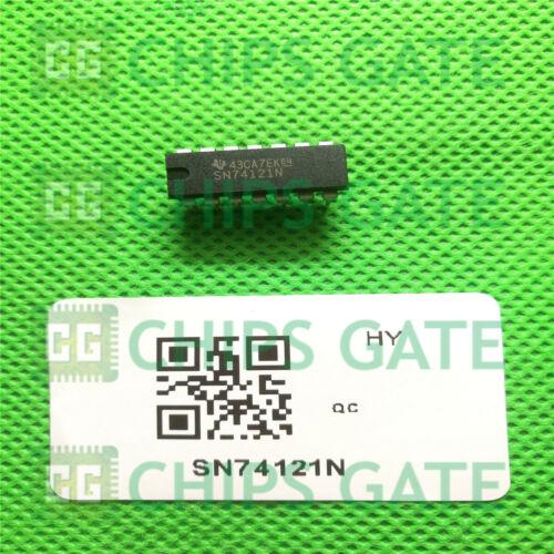 2PCS SN74121N Encapsulation:DIP-14,MONOSTABLE MULTIVIBRATORS WITH